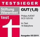 Philips Avent SCD 525 - Stiftung Warentest Testurteil