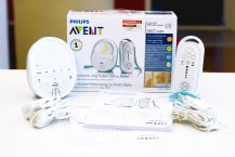 Philips Avent SCD 505 Babyphone Lieferumfang